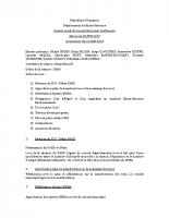 Conseil municipal du 28 juin 2018