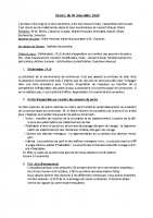Conseil municipal du 5 novembre 2020