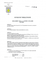 Règlement Cantine 2019-2020